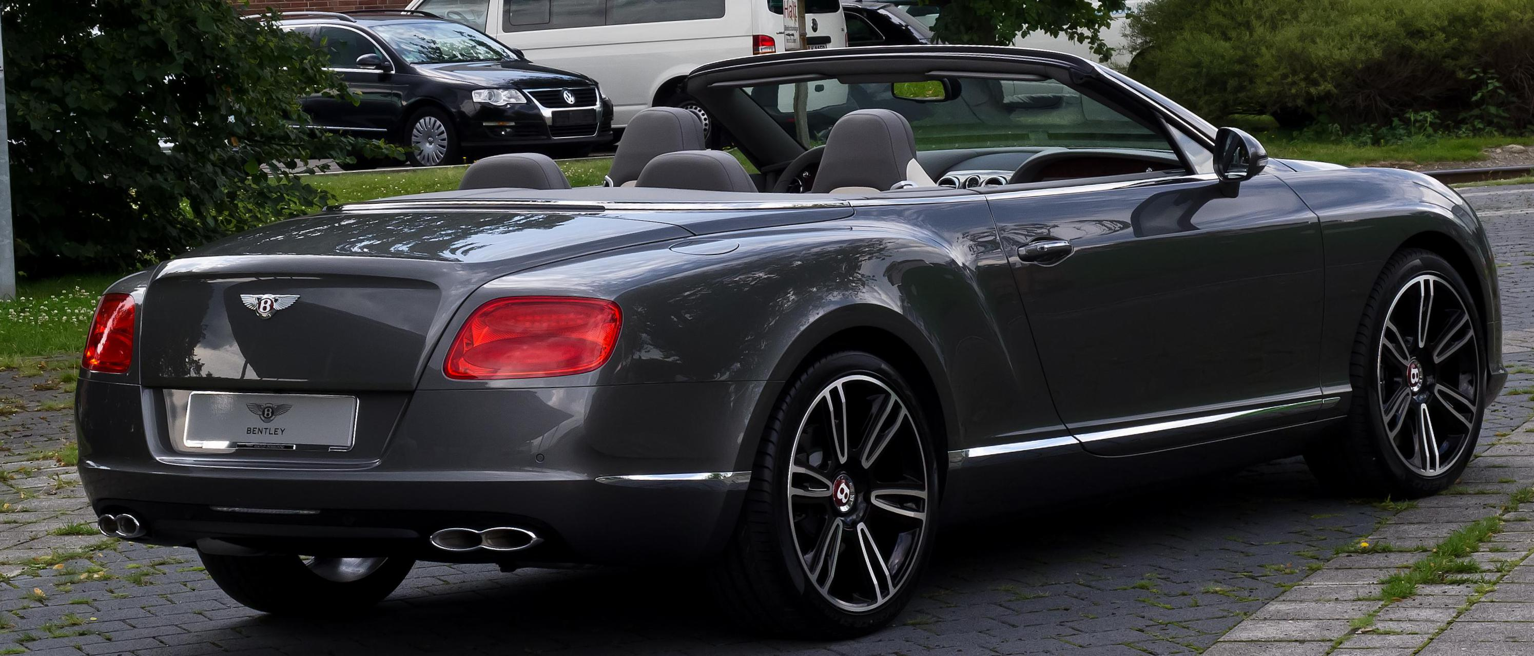 Continental GTC V8 Bentley for sale 2008