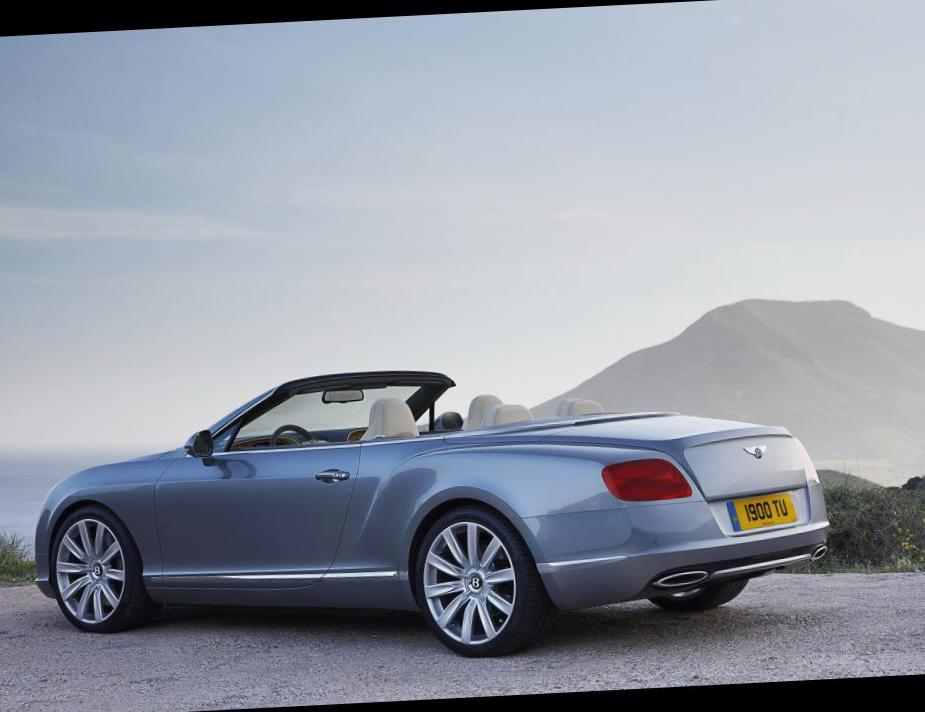 Bentley Continental GTC tuning coupe