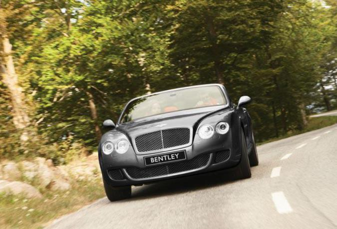 Continental GTC Bentley Specification 2003