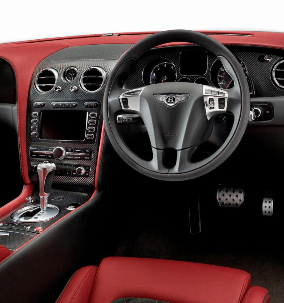 Bentley Continental Supersports parts coupe