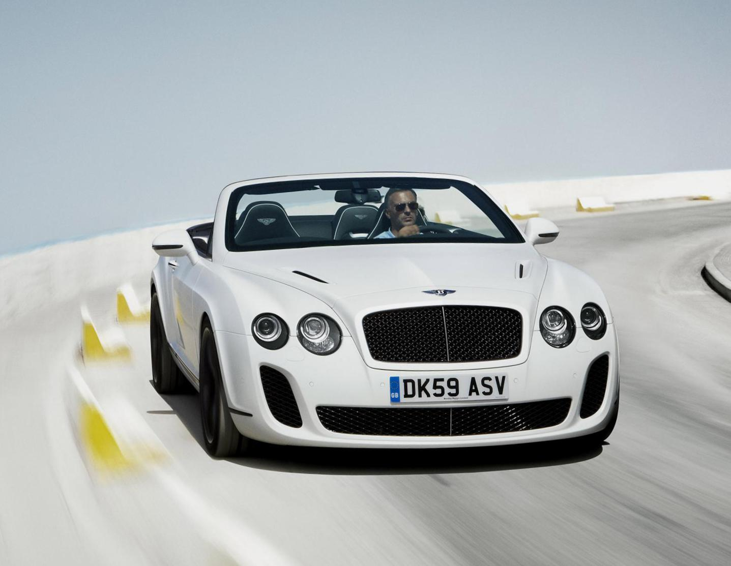 Bentley Continental Supersports Convertible cost 2012
