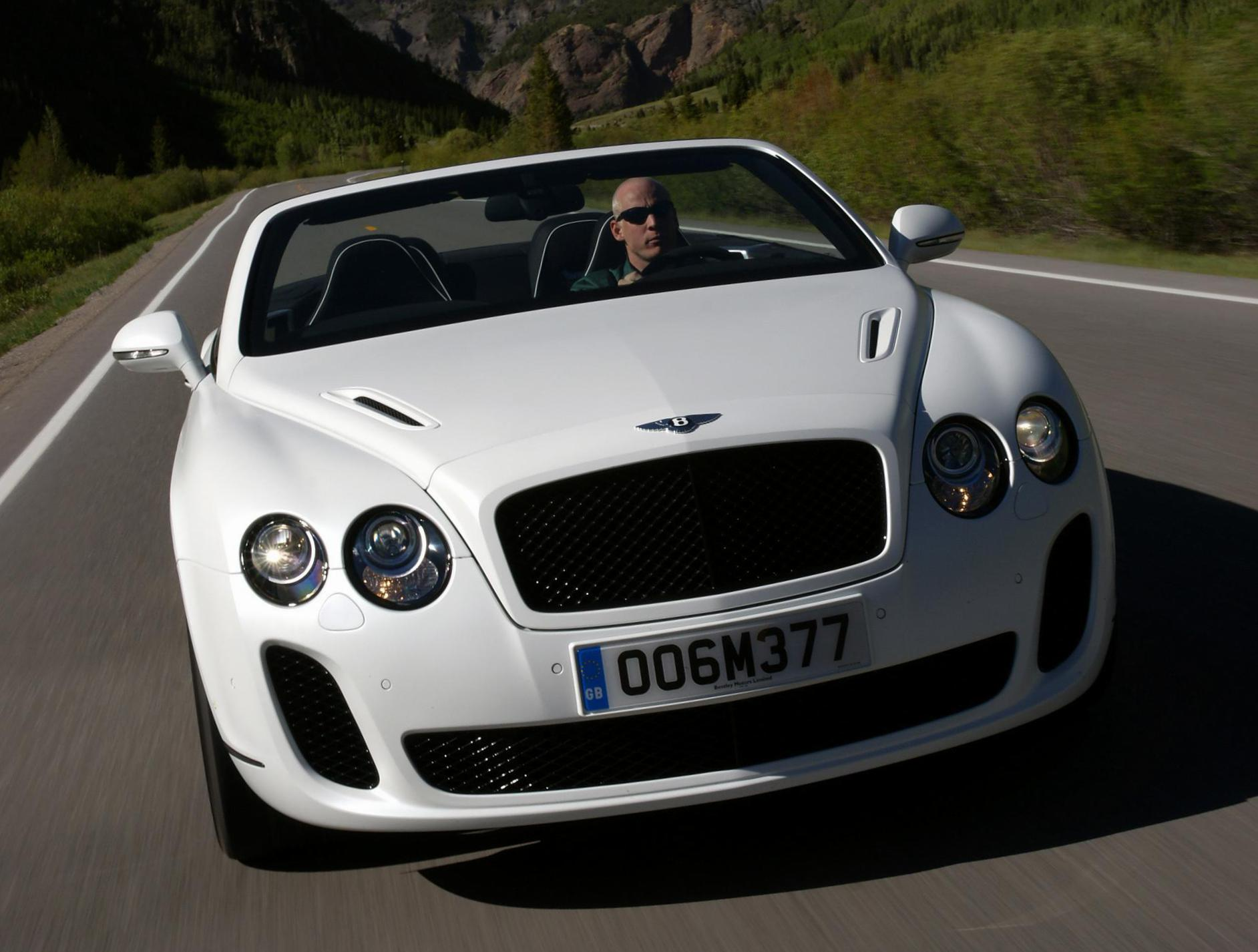 Bentley Continental Supersports Convertible new coupe