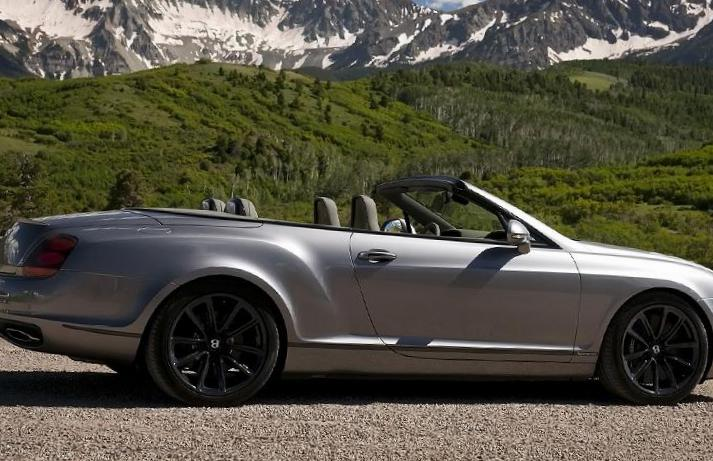 Bentley Continental Supersports Convertible reviews 2009