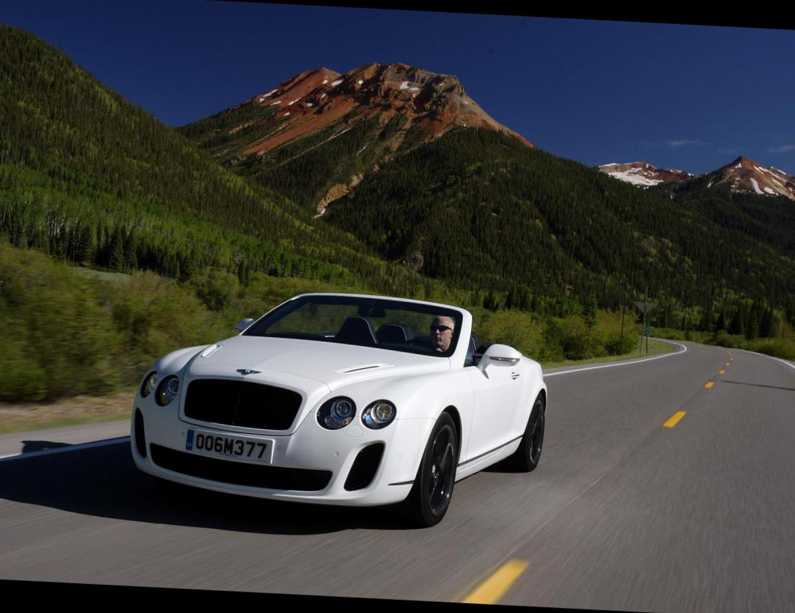 Bentley Continental Supersports Convertible tuning 2012
