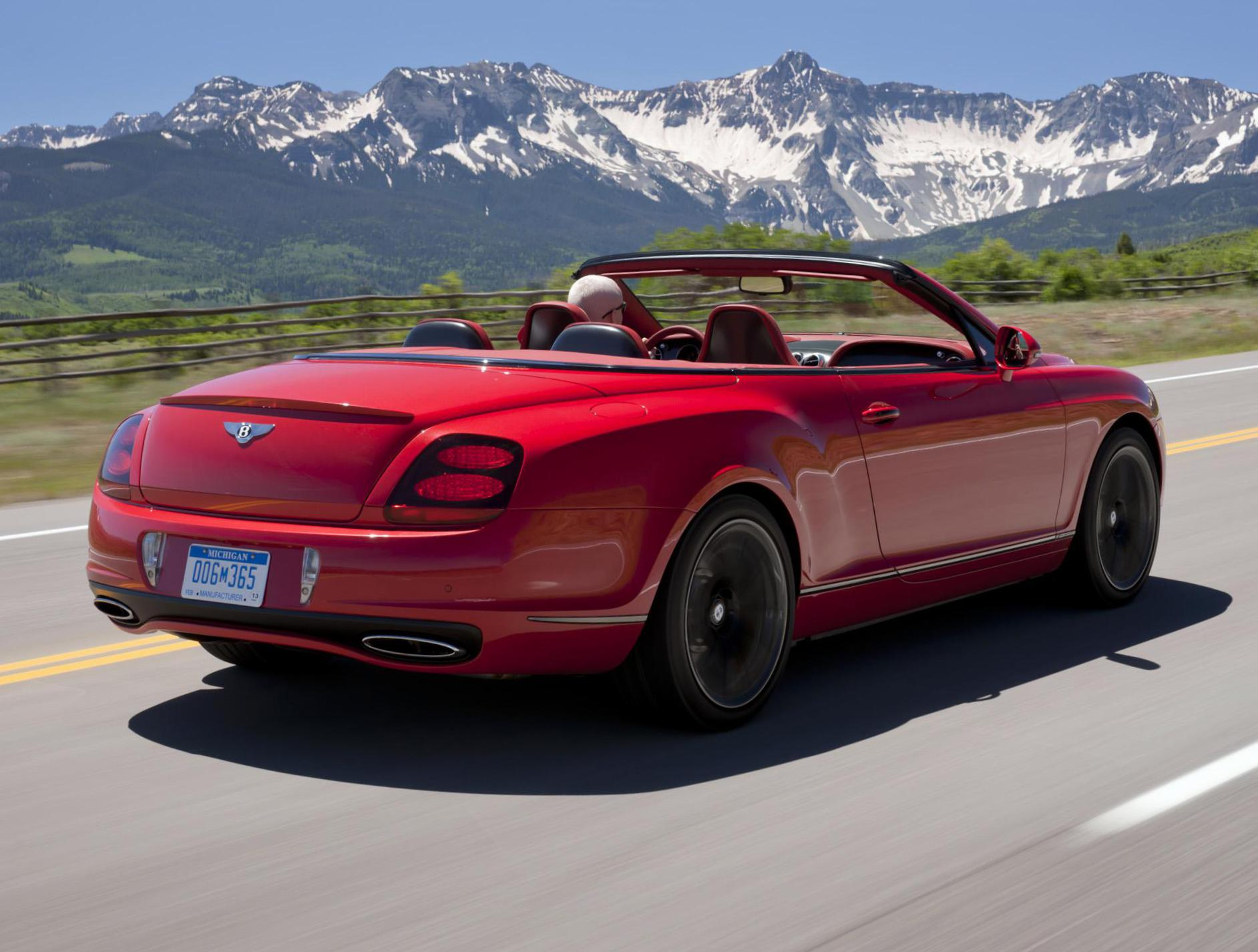 Continental Supersports Convertible Bentley concept cabriolet