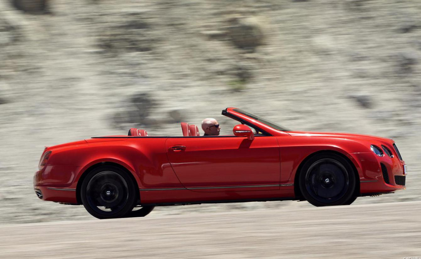 Continental Supersports Convertible Bentley reviews suv
