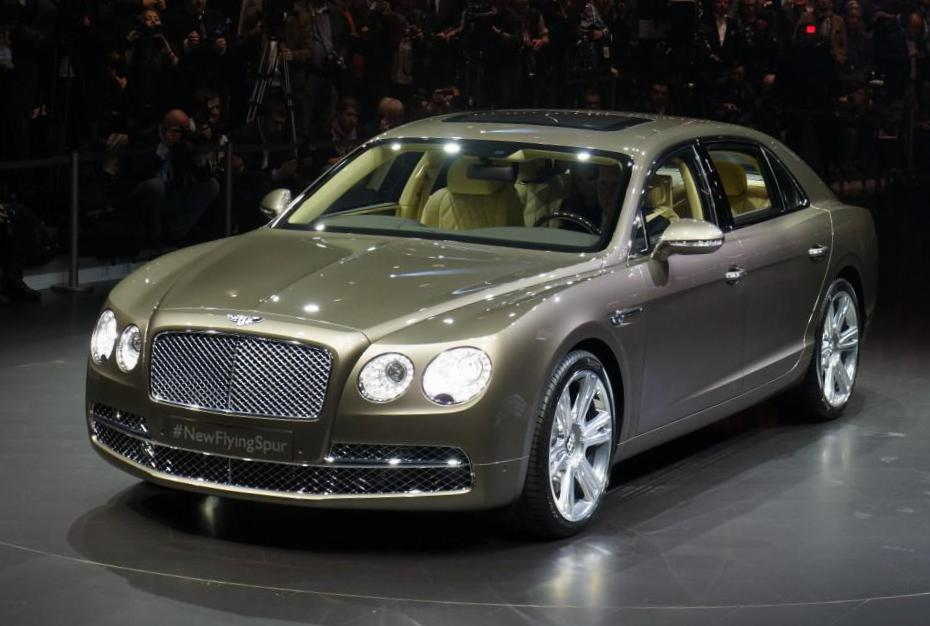 Bentley Flying Spur reviews van