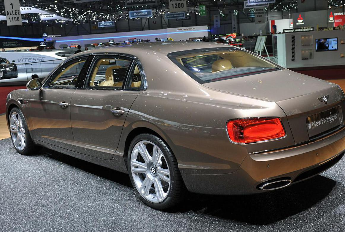 Flying Spur Bentley models 2012