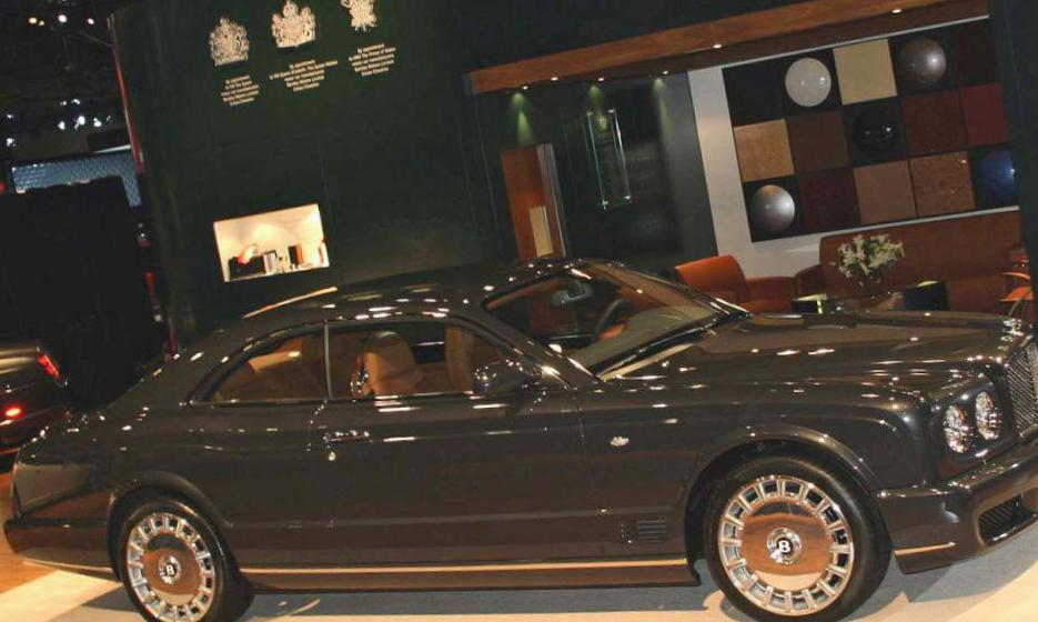Brooklands Bentley concept sedan