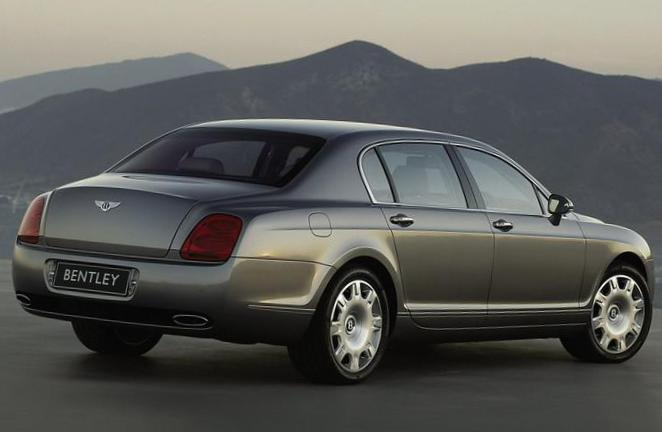 Bentley Continental Flying Spur configuration 2013