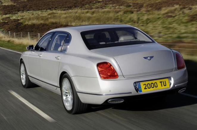 Bentley Continental Flying Spur cost liftback
