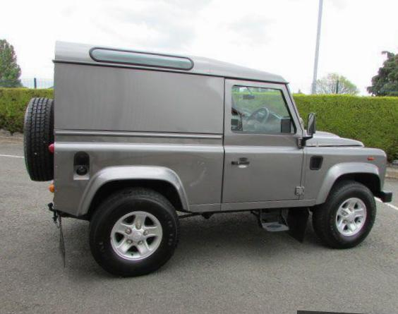 90 Hard Top Land Rover prices 2009