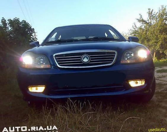 CK-2 Geely reviews liftback