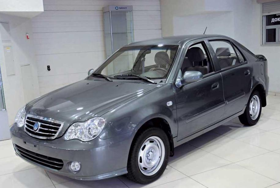 Geely CK-2 Specification 2012