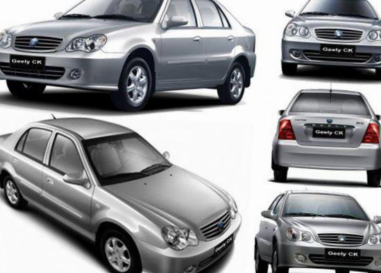 Geely CK reviews sedan