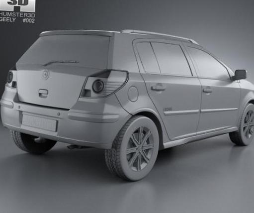 Geely MK configuration 2012