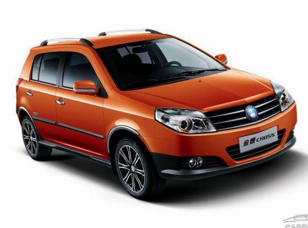 MK Cross Geely parts suv