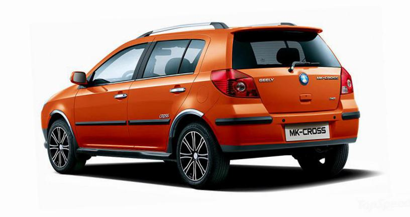 Geely MK Cross auto liftback