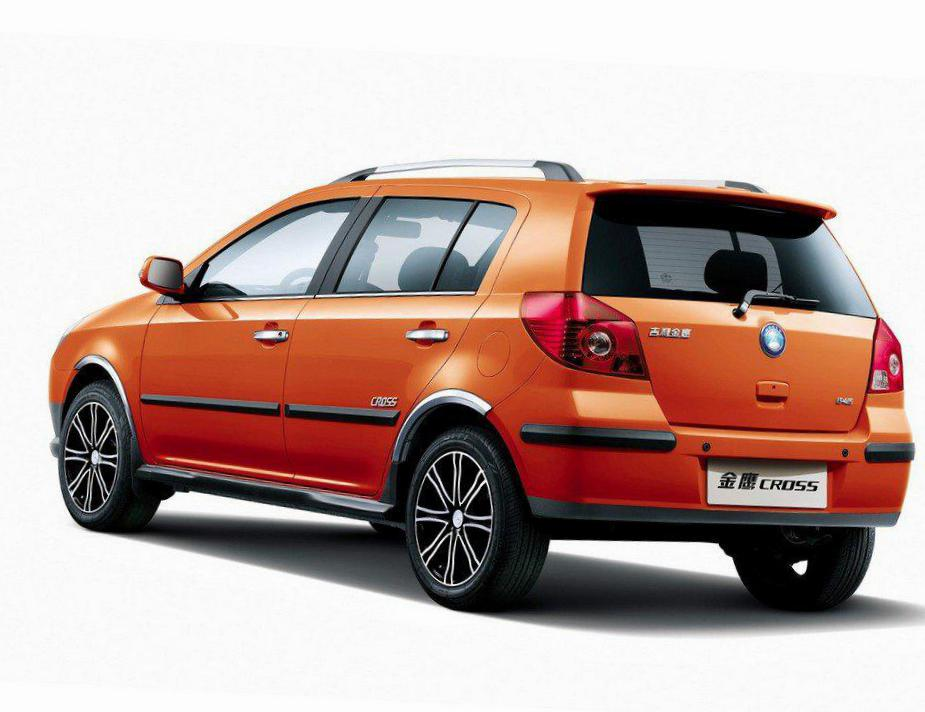 Geely MK Cross models 2006