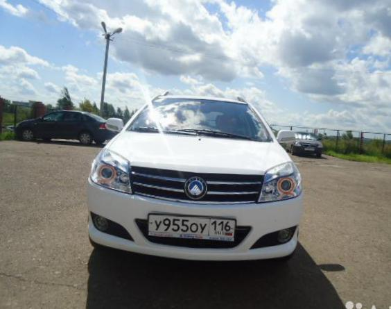 Geely MK Cross parts 2012