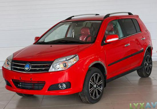 Geely MK Cross Specifications wagon