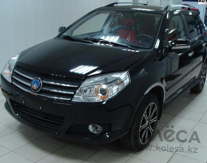 MK Cross Geely models 2012