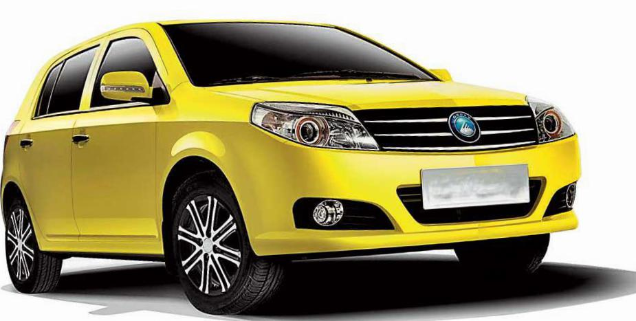 Geely MK-2 approved 2015
