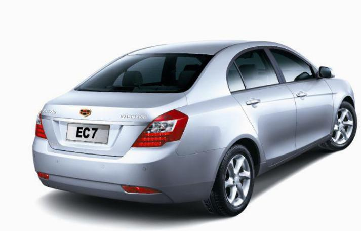 Emgrand 7 (EC7) Geely tuning 2009