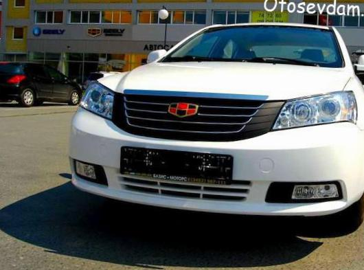 Geely Emgrand 7 (EC7) approved 2009