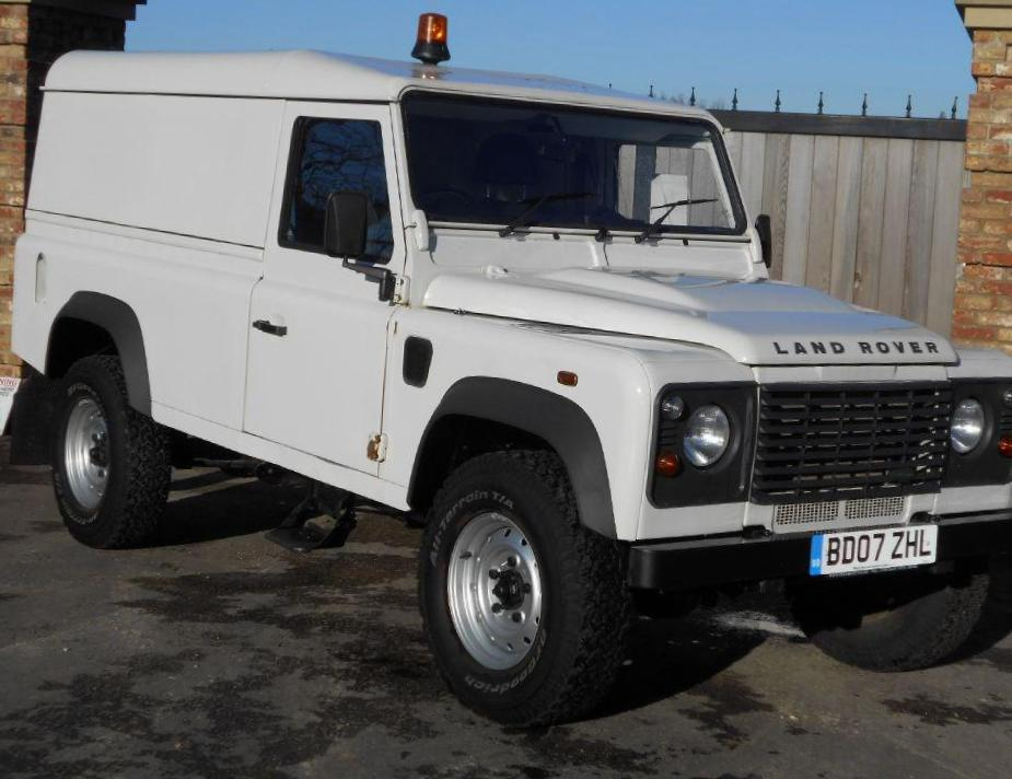 Land Rover 110 Hard Top sale 2013