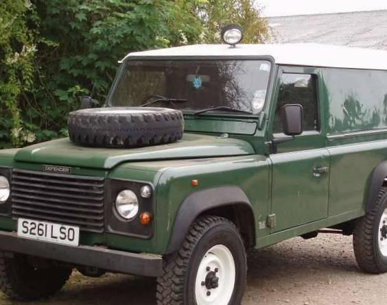 Land Rover 110 Hard Top usa 2007
