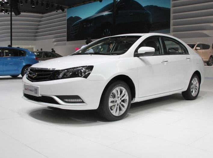 Geely Emgrand 7 (EC7-RV) review 2013