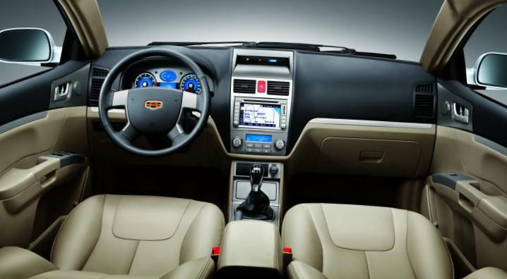 Emgrand 7 (EC7) Geely Specifications 2010