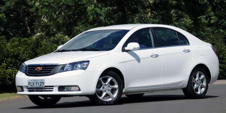 Geely Emgrand 7 (EC7) lease 2015