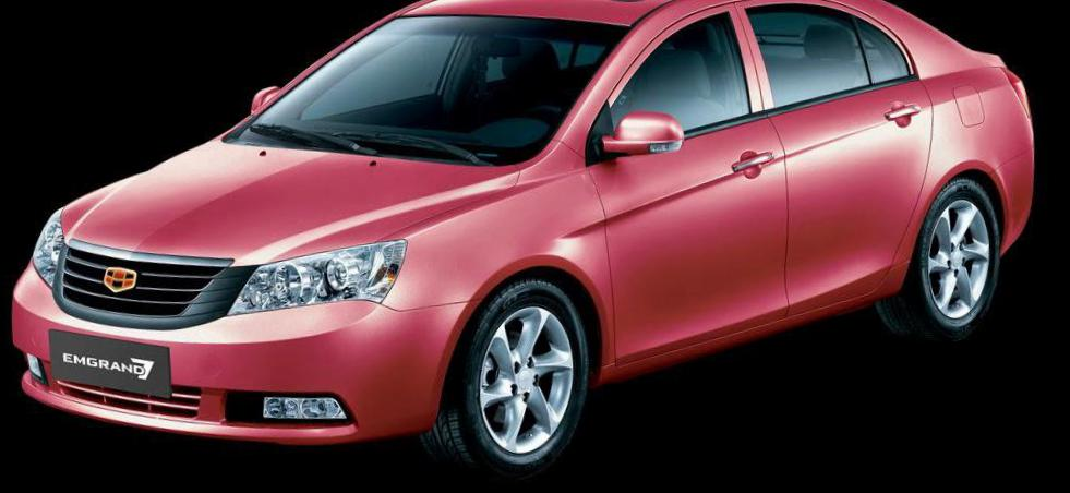 Geely Emgrand 7 (EC7) new hatchback