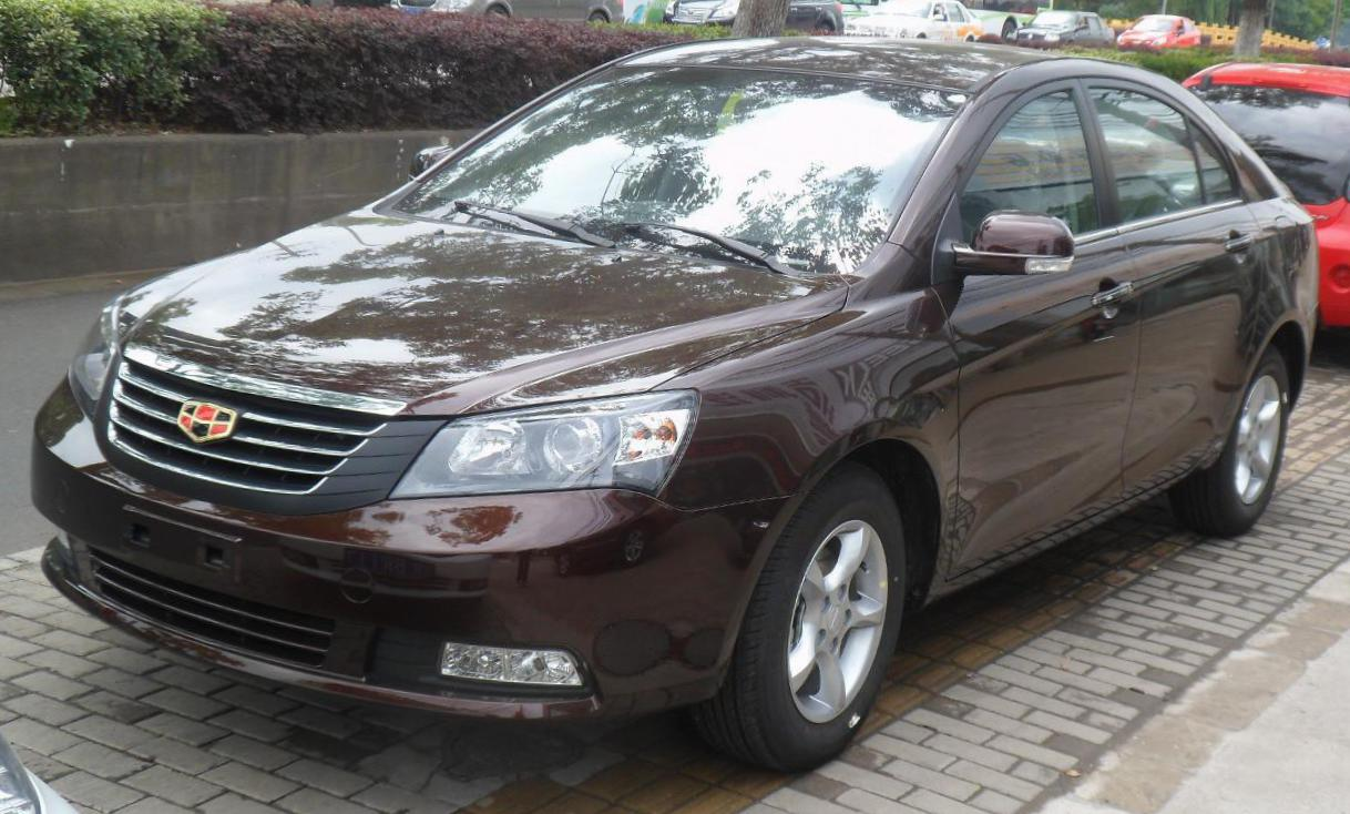 Geely Emgrand 7 (EC7) tuning 2015