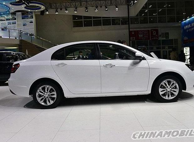 Emgrand 7 (EC7-RV) Geely models 2013
