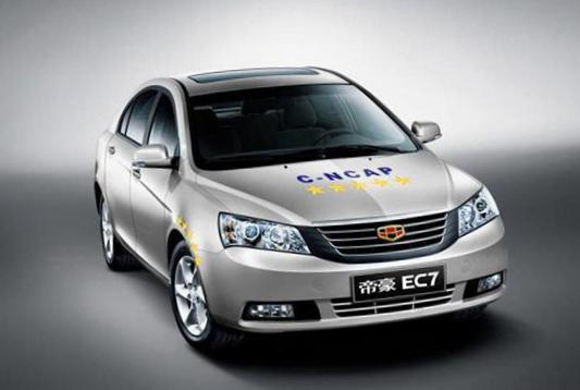 Emgrand 7 (EC7-RV) Geely spec liftback