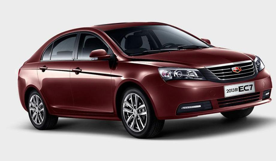 Geely Emgrand 7 (EC7-RV) review 2010