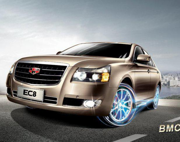 Geely Emgrand 8 (EC8) reviews 2010