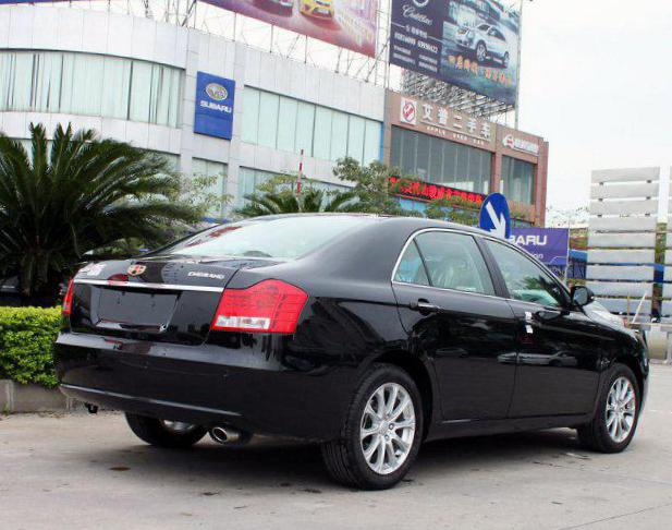 Geely Emgrand EC8 review 2013