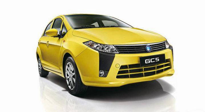 GC5 hatchback Geely configuration coupe