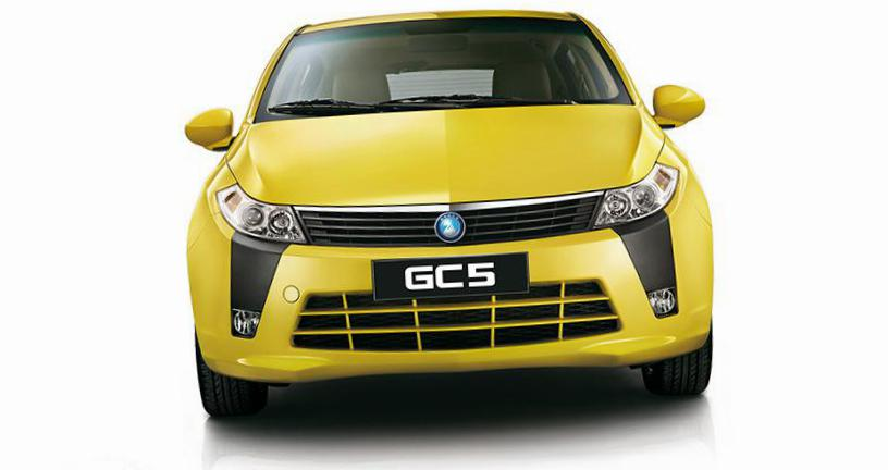 Geely GC5 hatchback how mach hatchback