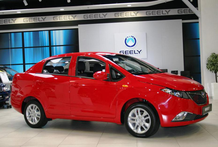 GC5 Geely used 2012