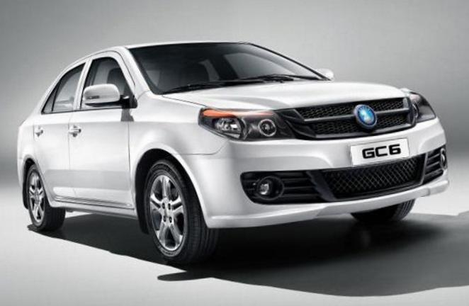 Geely GC6 (SC6) review 2012