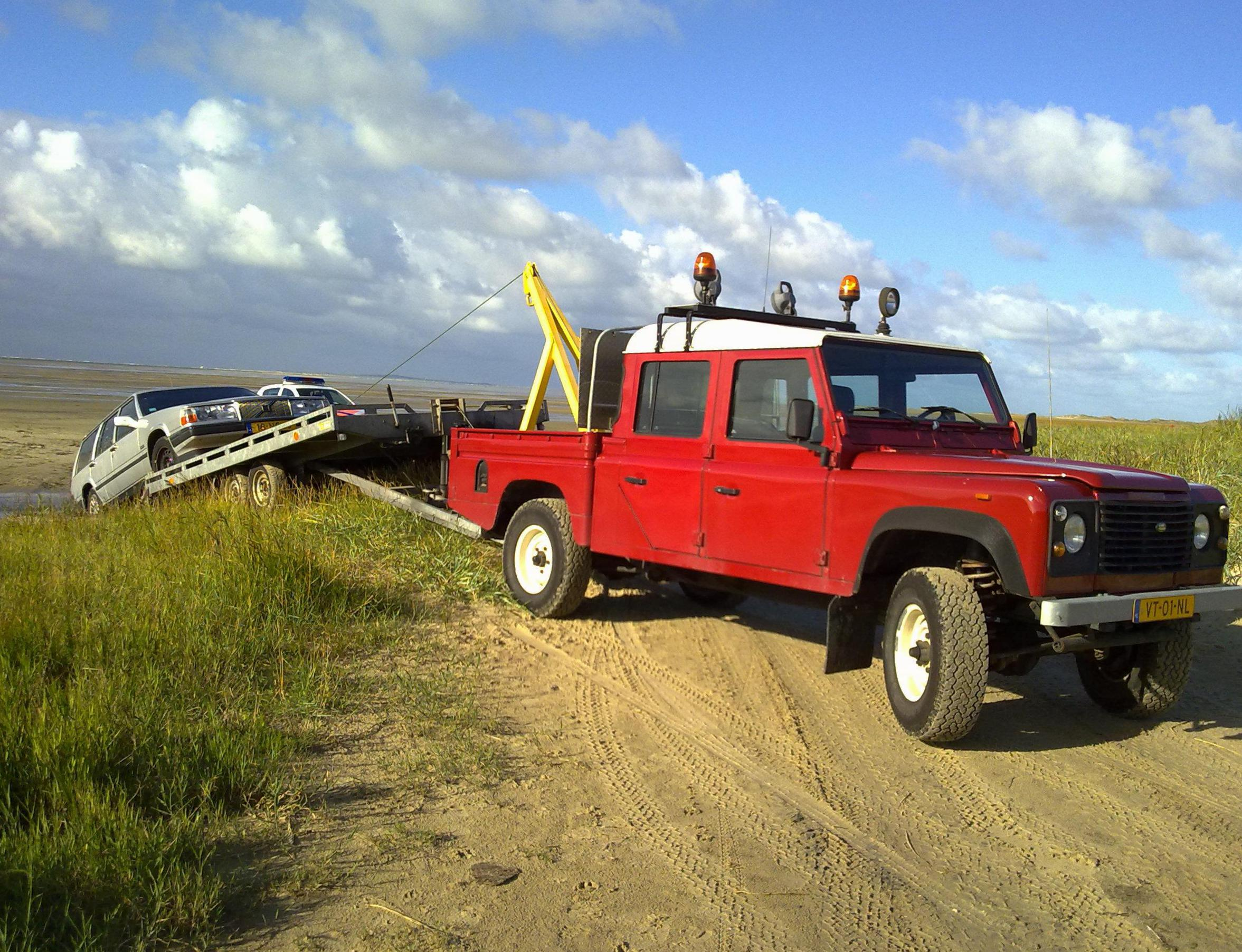Land Rover 90 Single Cab Pick Up model 2009