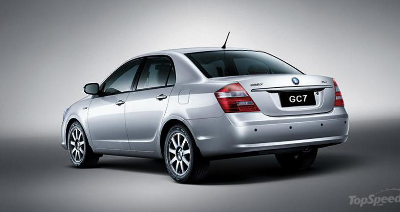 Geely GC7 approved 1999