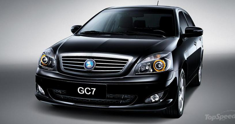 Geely GC7 models suv