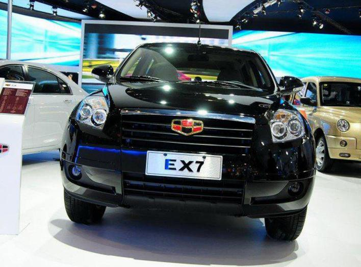 Emgrand X7 Geely review 2010