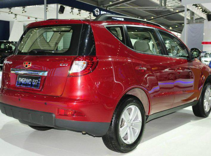 Geely Emgrand X9 reviews 2012